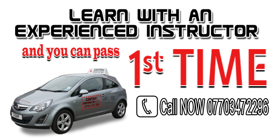 Driving lessons with Central driving school